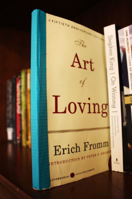 The-Art-of-Loving-by-Erich-Fromm-on-my-Bookshelf